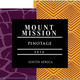 Wine Mount Mission Pinotage Red
