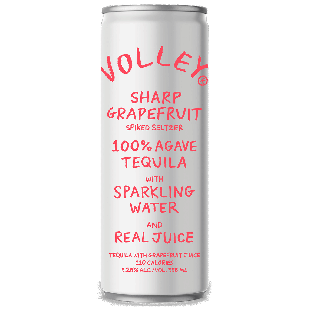 Spirits Volley Sharp Grapefruit Spiked Seltzer 355ml cans