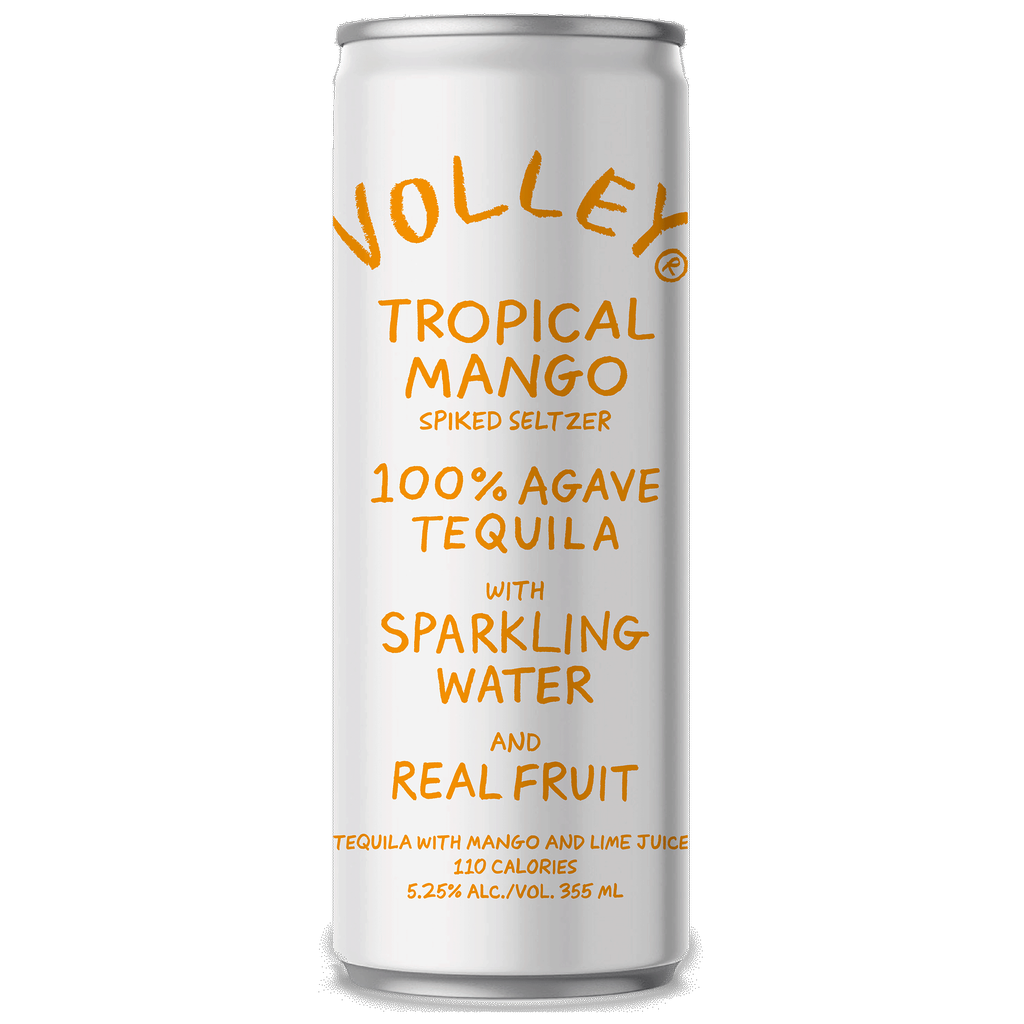 Spirits Volley Tropical Mango Spiked Seltzer 355ml cans