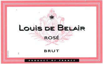 Sparkling Louis de Belair Brut Rose Sparkling