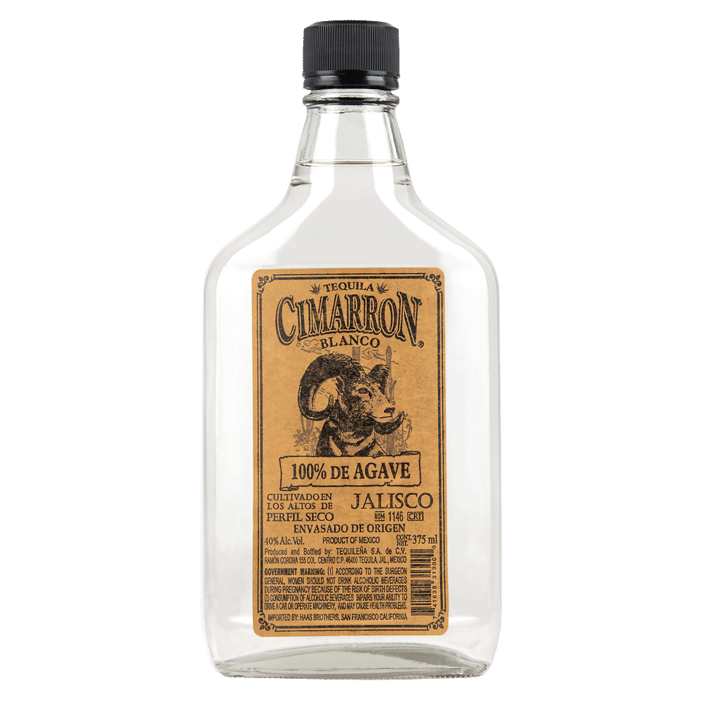 Spirits Cimarron Blanco Tequila 100% de Agave 375ml