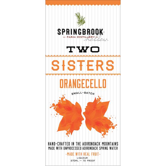 Spirits Two Sisters Orangecello 375ml