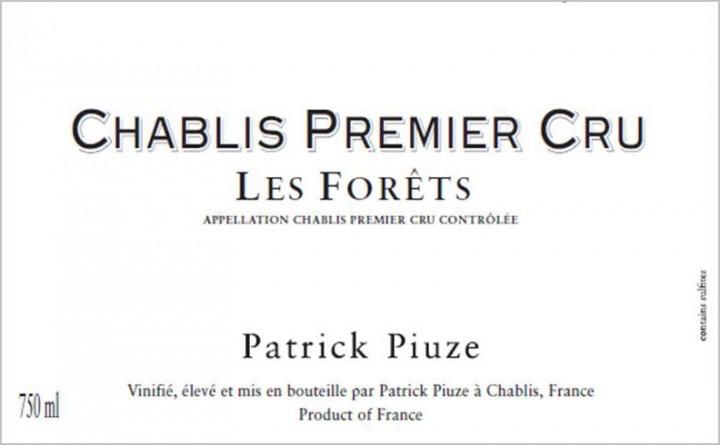 Wine Patrick Piuze Chablis Premier Cru Les Forets 2019