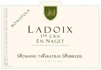 Wine Domaine Maratray-Dubreuil Ladoix Premier Cru En Naget Monopole Blanc 2017