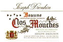 Wine Drouhin Beaune Clos de Mouches Blanc 1987