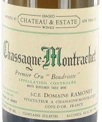 Wine Domaine Ramonet Chassagne Montrachet Boudriote Premier Cru 2005