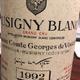 Wine Domaine Comte Vogue Musigny Blanc Grand Cru 1992