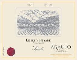 Wine Araujo Estate Syrah Eisele Vineyard Napa Valley 2005