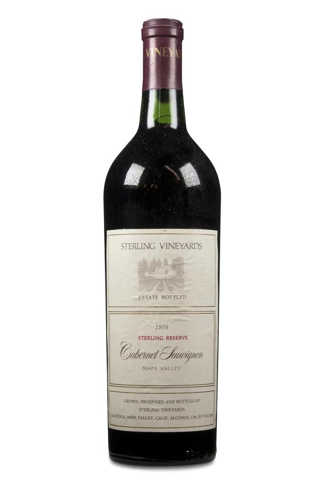Wine Sterling Reserve Cabernet Sauvignon Napa Valley 1976