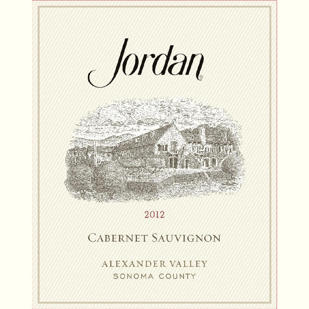 Wine Jordan Cabernet Sauvignon Alexander Valley 2014
