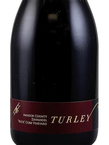 Wine Turley Zinfandel Buck Cobb Vineyard Amador County 2016