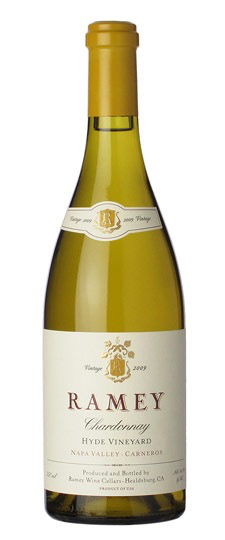Wine Ramey Chardonnay Hyde Vineyard Napa Valley Carneros 2009