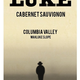 Wine Luke Wines Cabernet Sauvignon Wahluke Slope Columbia County 2018