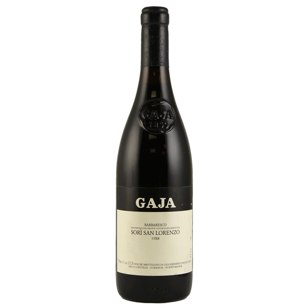 Wine Gaja Barbaresco San Lorenzo 1988