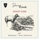 Wine Sheep Creek Pinot Noir