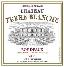 Wine Chateau Terre Blanche Bordeaux Rouge 2018