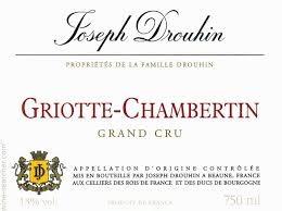Wine Drouhin Griotte Chambertin Grand Cru 1988 1.5L