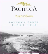 Wine Pacifica Evan's Collection Pinot Noir Columbia Gorge 2018 Kosher