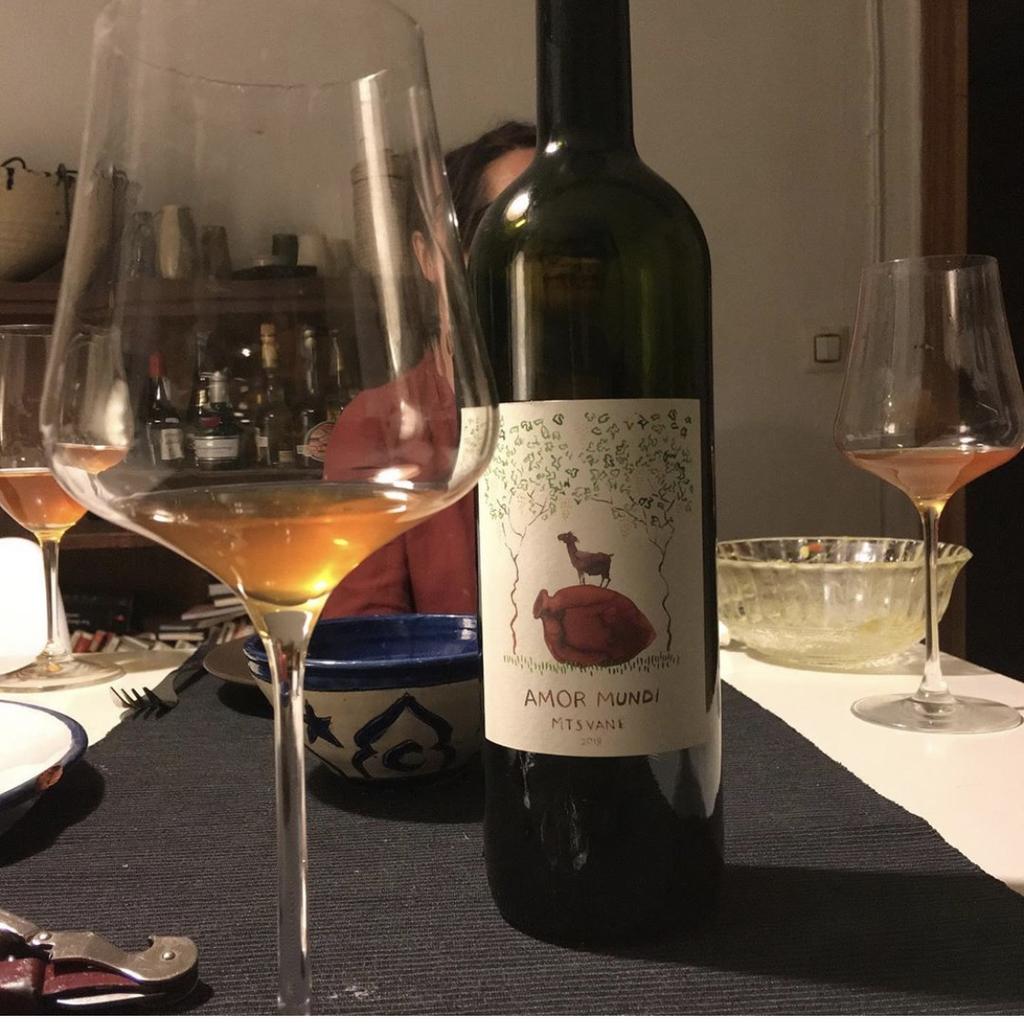 Wine Amor Mundi Mtsvane Georgian 2018