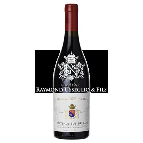 Wine Domaine Raymond Usseglio Chateauneuf du Pape Girard 2017