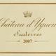 Wine Chateau d'Yquem Sauternes 2007