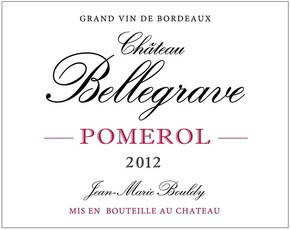 Wine Chateau Bellegrave, Pomerol 2014