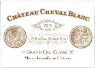 Wine Chateau Cheval Blanc 2015