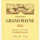 Wine Ch Grand Mayne Saint Emilion 2015