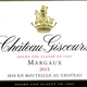 Wine Chateau Giscours Margaux 2015