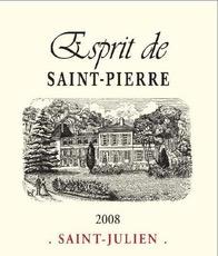 Wine Esprit de Saint Pierre 2014