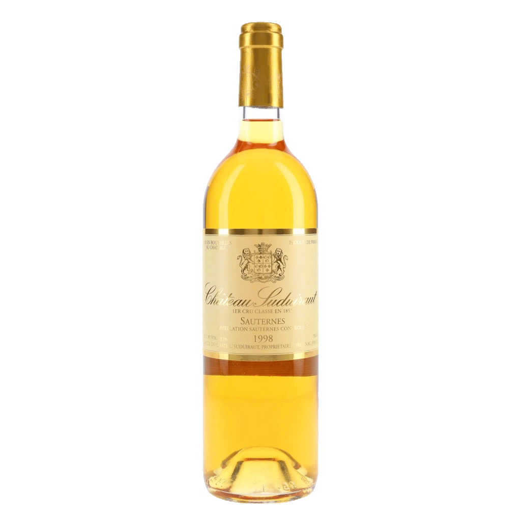 Wine Ch Suduiraut Sauternes 1998