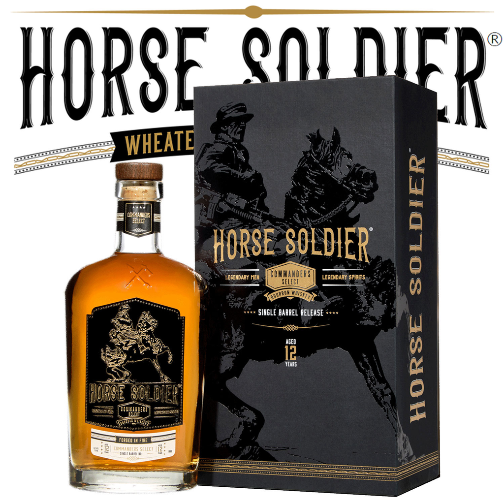 Spirits Horse Soldier 12 Year Single Barrel Release Commander's Select Bourbon