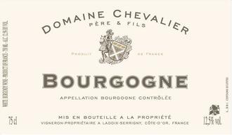 Wine Domaine Chevalier Pere et Fils Bourgogne Blanc 2017