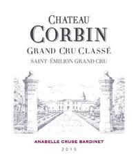 Wine Chateau Corbin Saint Emilion Grand Cru Classe 2014
