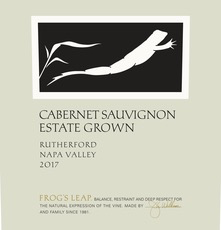 Wine Frogs Leap Cabernet Sauvignon 2017