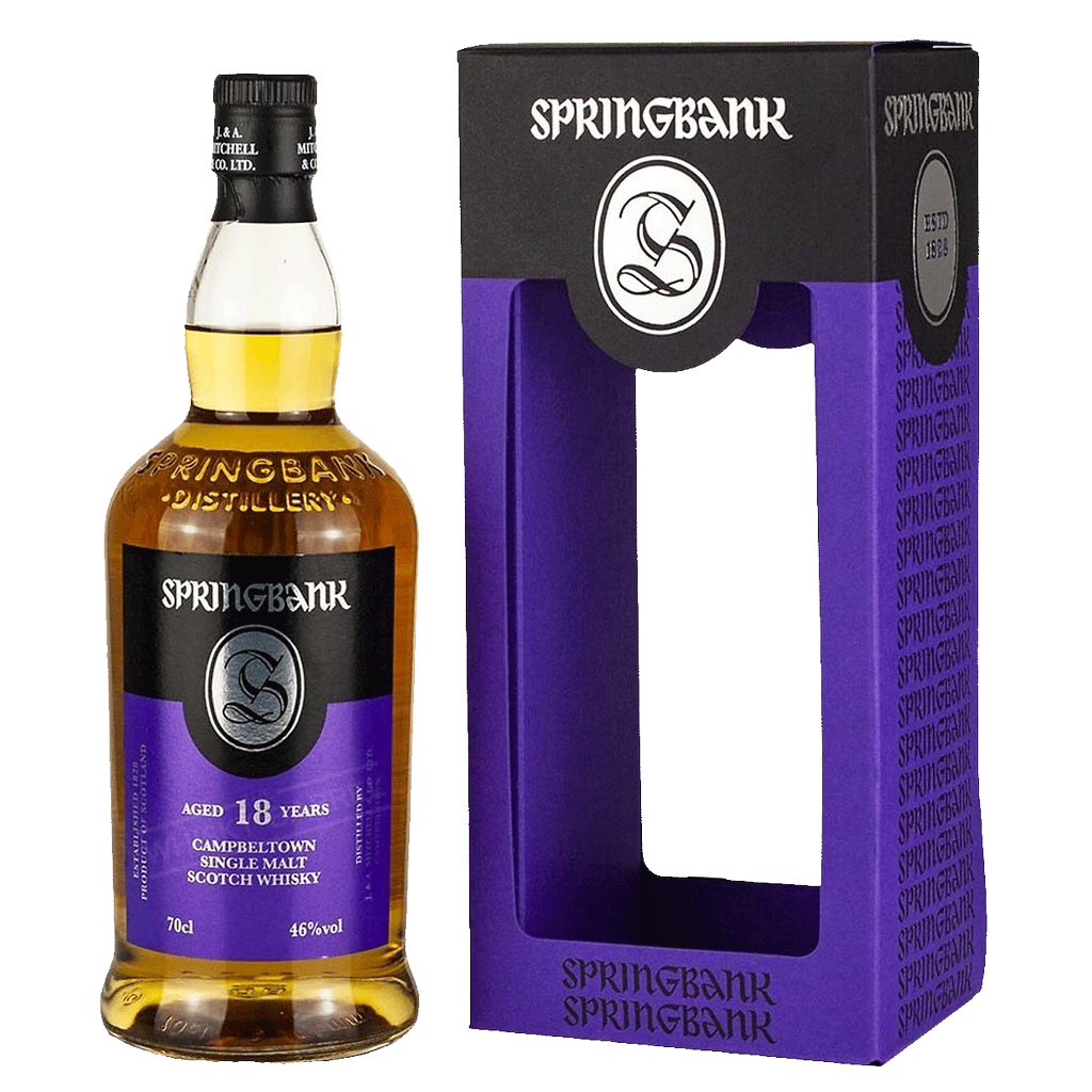 Spirits Springbank Campbeltown 18 Year Single Malt Scotch