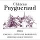 Wine Chateau Puygueraud Francs Cotes de Bordeaux 2016