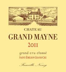 Wine Chateau Grand Mayne, Saint-Emilion 2011