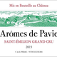 Wine Ch Aromes de Pavie, Saint-Emilion Grand Cru 2016 375ml