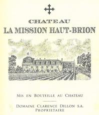 Wine Chateau La Mission Haut-Brion 2012