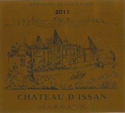 Wine Ch d'Issan Margaux 2011