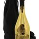 Sparkling Armand de Brignac Ace of Spades Brut Gold Champagne Velvet Pouch