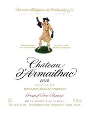 Wine Ch d'Armailhac 2012