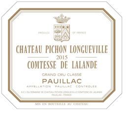 Wine Ch Pichon Longueville Comtesse de Lalande 2009