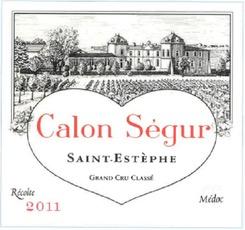 Wine Ch Calon Segur 2011