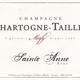Sparkling Chartogne Taillet Champagne Brut Cuvee Sainte Anne