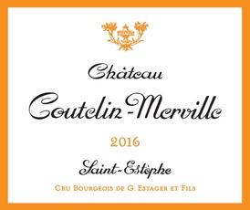 Wine Ch Coutelin Merville 2016