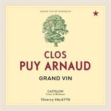 Wine Clos Puy Arnaud, Castillon Cotes de Bordeaux  2014