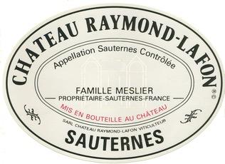 Wine Ch Raymond Lafon 2009 375ml