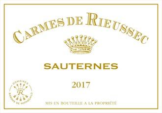 Wine Carmes de Rieussec 2018 375ml
